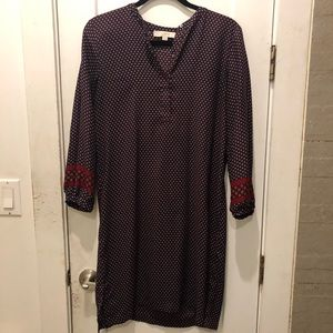 Ann Taylor LOFT tunic dress paisley
